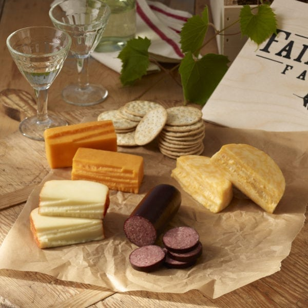Our assortment of cheeses